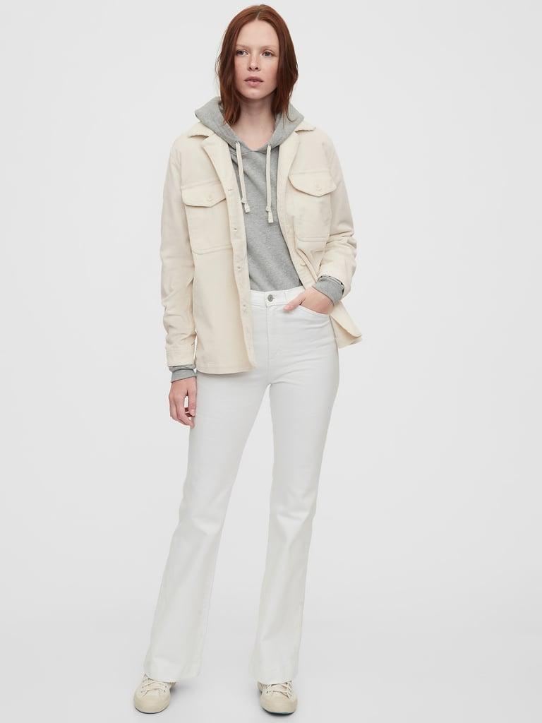 Gap Corduroy Shirt Jacket