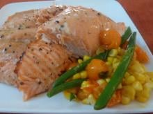 Recipe: 15-Minute Honey Mustard Salmon