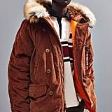 Alpha Industries UO Exclusive N3B Slim Corduroy Coat