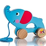 Wooden Pull Along Elephant Toy