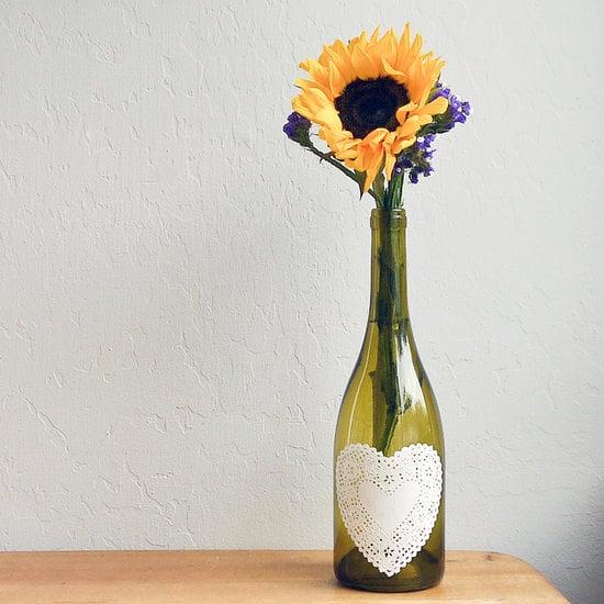 Wine Bottle Centrepiece