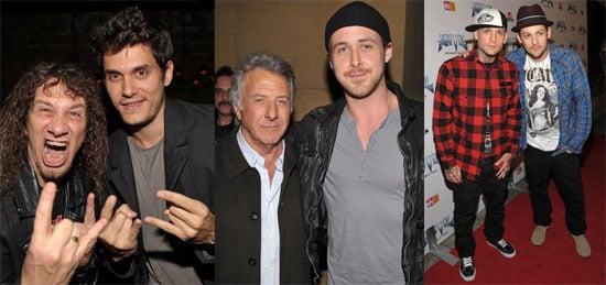 Photos of John Mayer, Ryan Gosling, Joel Madden, Benji Madden at Anvil! The Story of Anvil