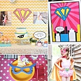 A Vintage Girlie Superhero Party