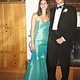 """I was so in love with the shape of this Jessica McClintock dress. I thought the mermaid silhouette was so glamorous, and I loved the bit of tulle on the bottom. It was my first time at prom (going as a sophomore with my boyfriend at the time, who was a senior), and I wanted to totally do it up. I remember stepping out to show off the dress to my date and my parents — it was such a huge moment . . . the big reveal. I loved it."" — Hannah Weil McKinley"