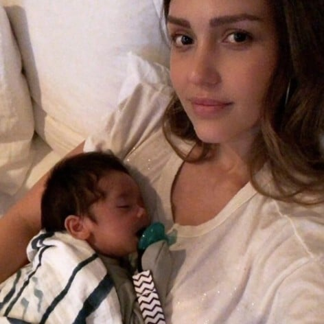 Jessica Alba's Instagram Picture of Son