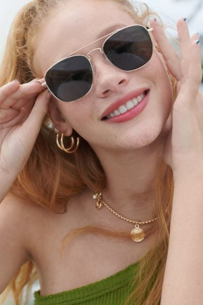 Urban Outfitters Aspen Aviator Sunglasses