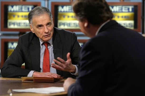 Ralph Nader Is Running for President
