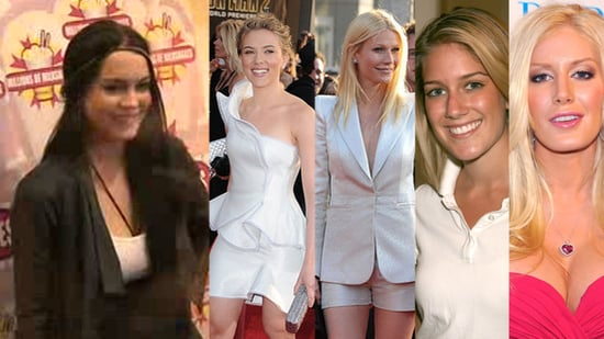 Lindsay Makes Milk Shakes, Scarlett and Gwyneth Match, and The Hills Stars Through the Years