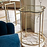 Oliver Bonas Fiore Marble & Glass Drinks Table