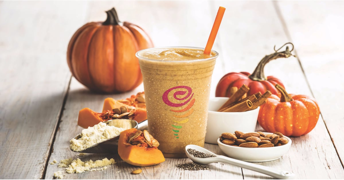 We'll Take Jamba Juice's Pumpkin Protein Smoothie Over a PSL Any Damn Day