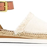 These fringed See by Chloé Ankle Strap Espadrilles ($165) are calling your name.