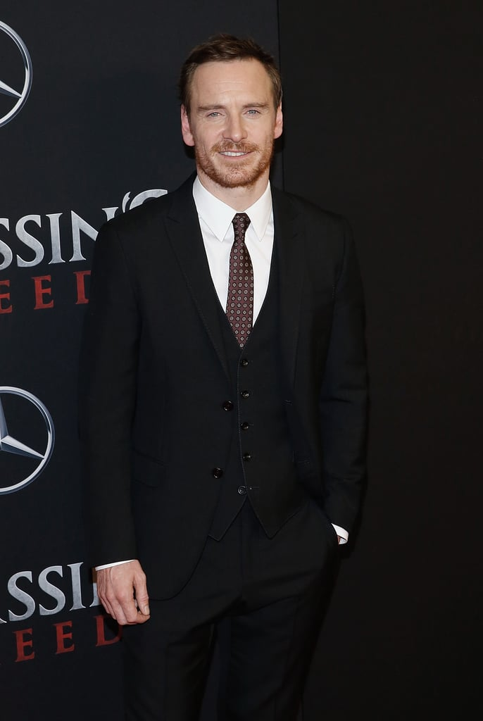 Michael Fassbender: April 2