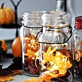 Leaf Luminary Mason Jar