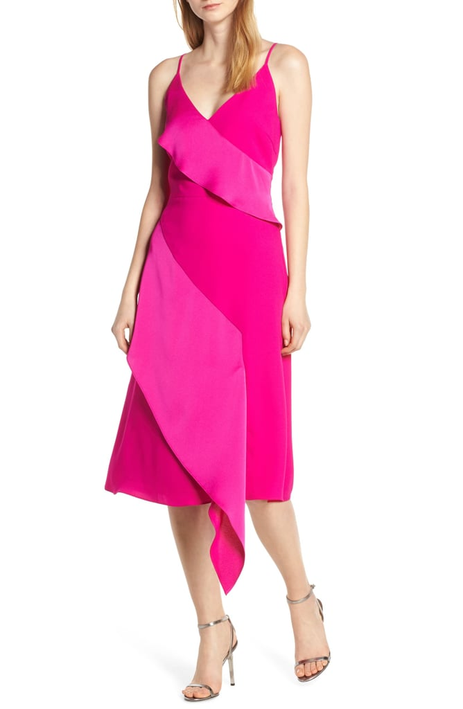Harlyn Asymmetrical Ruffle Dress