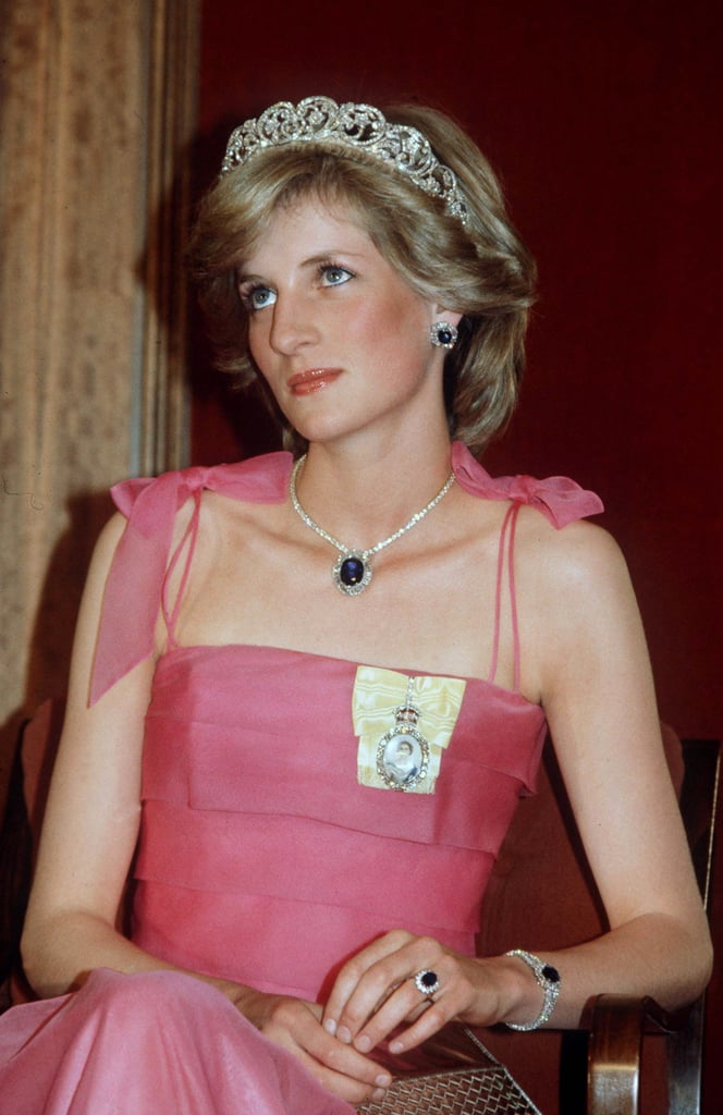 Sapphires The British Royal Jewelry Popsugar Fashion