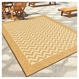 Chevron Stripe Promise Contemporary Area Rug