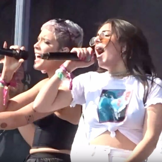 "Charli XCX and Halsey's Spice Girls ""Wannabe"" Cover"