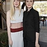 Elle Fanning and Evan Rachel Wood