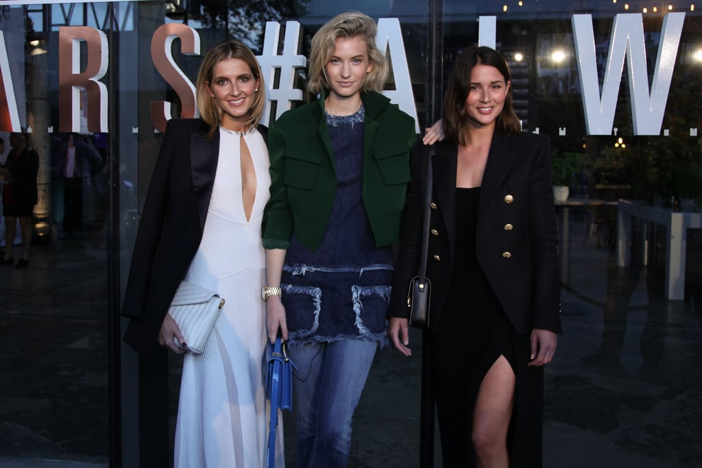 Kate Waterhouse, Zanita Whittington and Sara Donaldson — Day 1