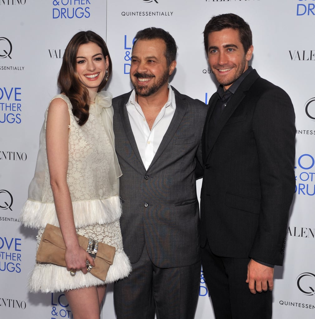 Anne Hathaway Relationship: Anne Hathaway And Jake Gyllenhaal In New York