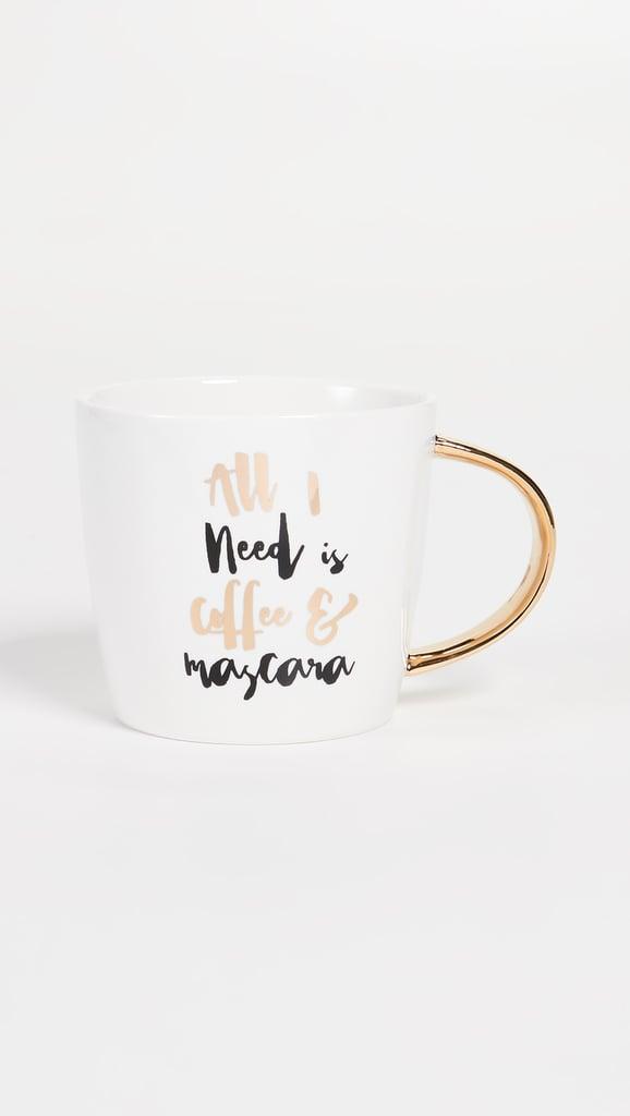 Slant Collections Coffee & Mascara Mug