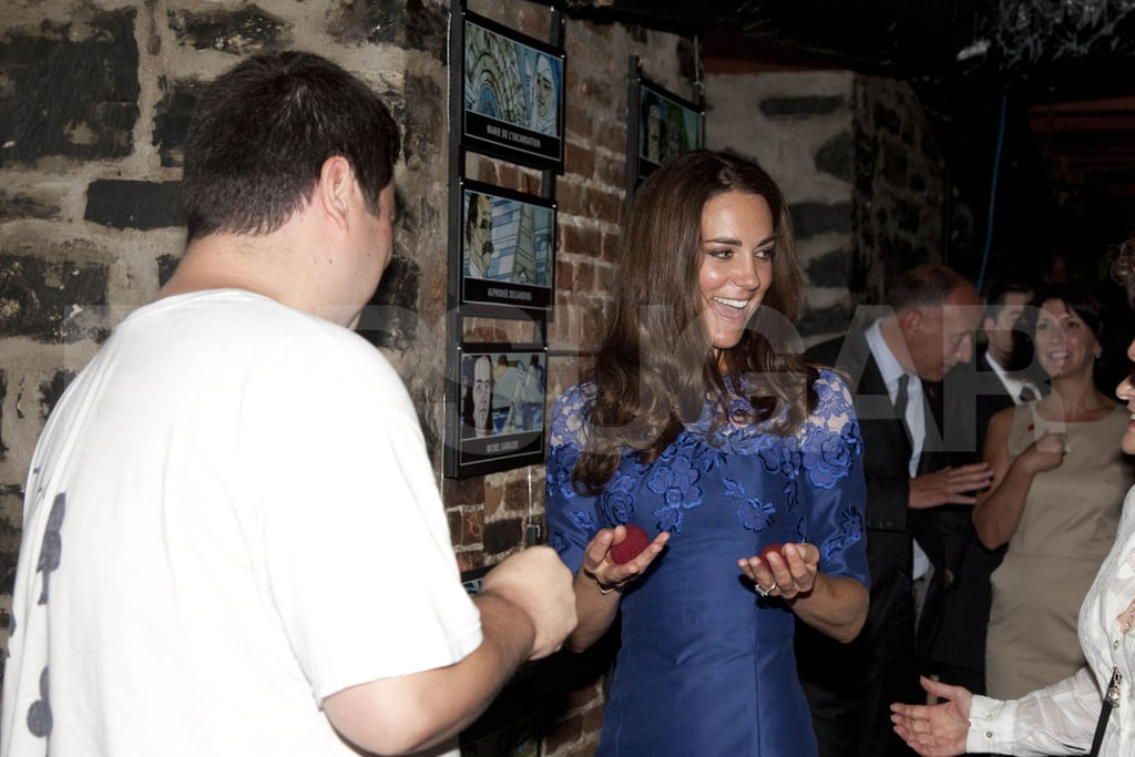 Kate Middleton helped a magician.