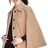 Banana Republic Melton Wool Cape ($268)