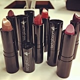 Ted Gibson gave us an up-close look at his new color cosmetics line. Source: Instagram user tedgibsonbeauty