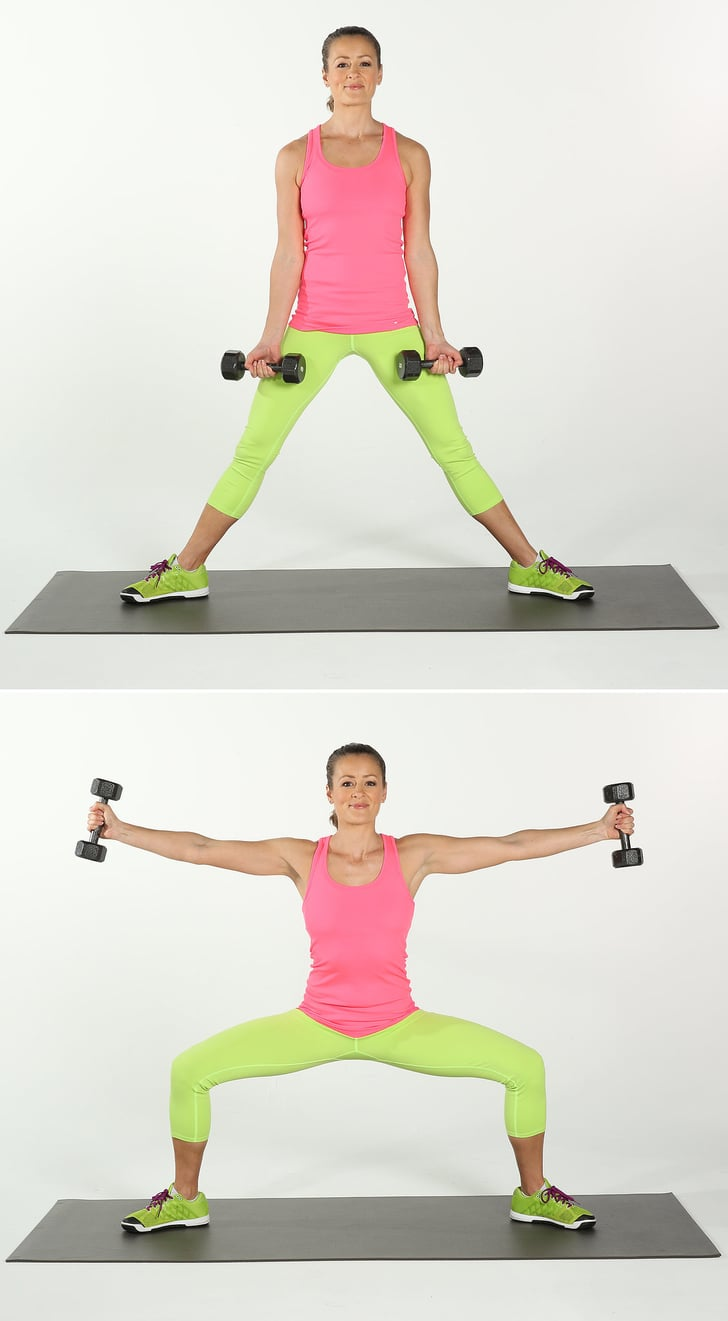 Butt Workout With Weights Popsugar Fitness