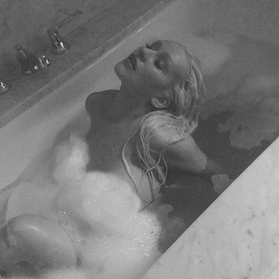 Christina Aguilera Nude Bathtub Photos February 2018