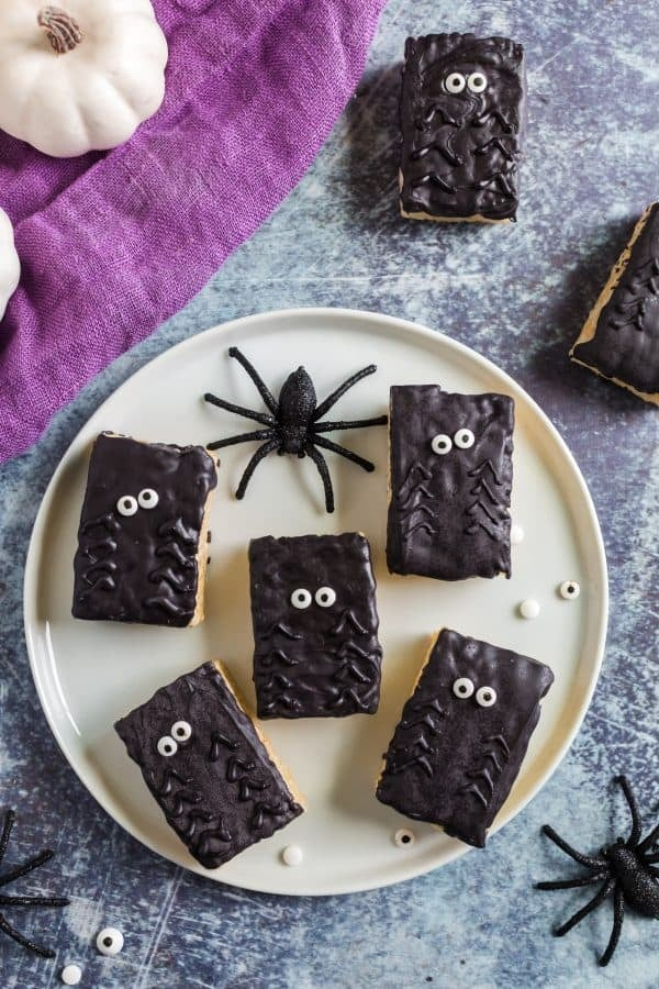 Spider Rice Krispies Treats