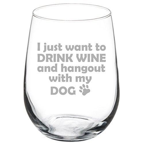 MIP Stemless Wine Glass