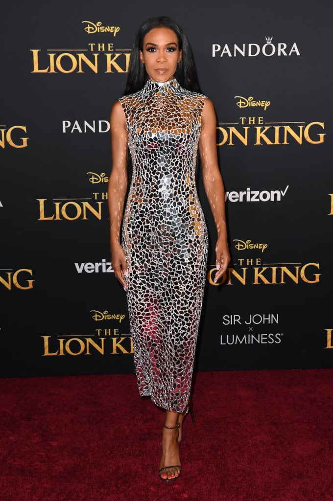 Pictured: Michelle Williams at The Lion King premiere in Hollywood.