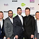 The Backstreet Boys were back (all right!) on the red carpet at the premiere of their documentary, Backstreet Boys: Show 'Em What You're Made Of, in LA on Thursday.
