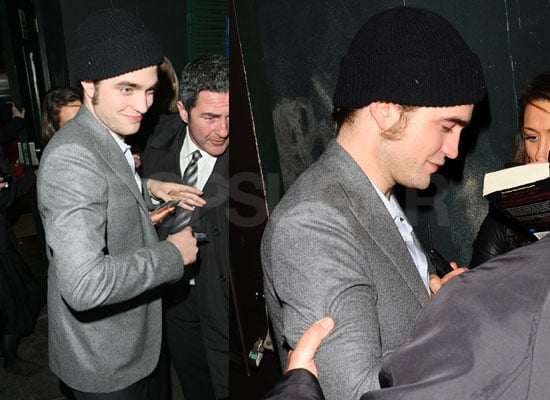 Photos of Robert Pattinson Signing Autographs at Remember Me After Party London Premiere