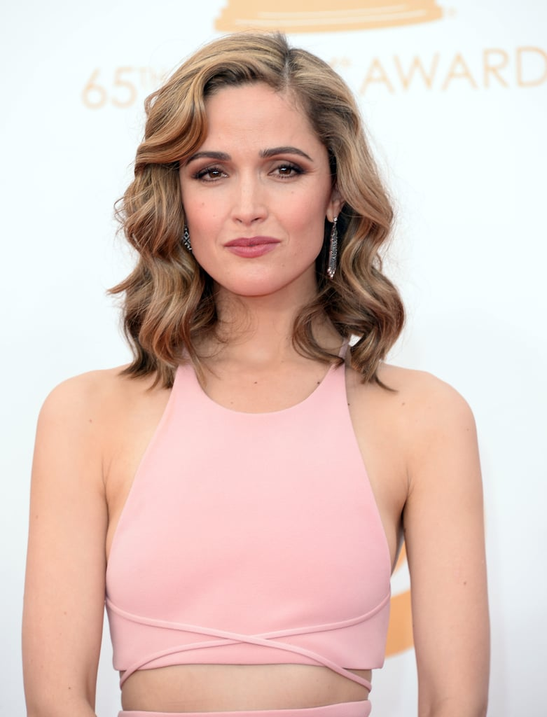 An award show isn't complete without a hair color remix. Rose Byrne showed up with extreme blond highlights for a newly frosted look.