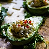Shrimp Ceviche-Stuffed Avocados