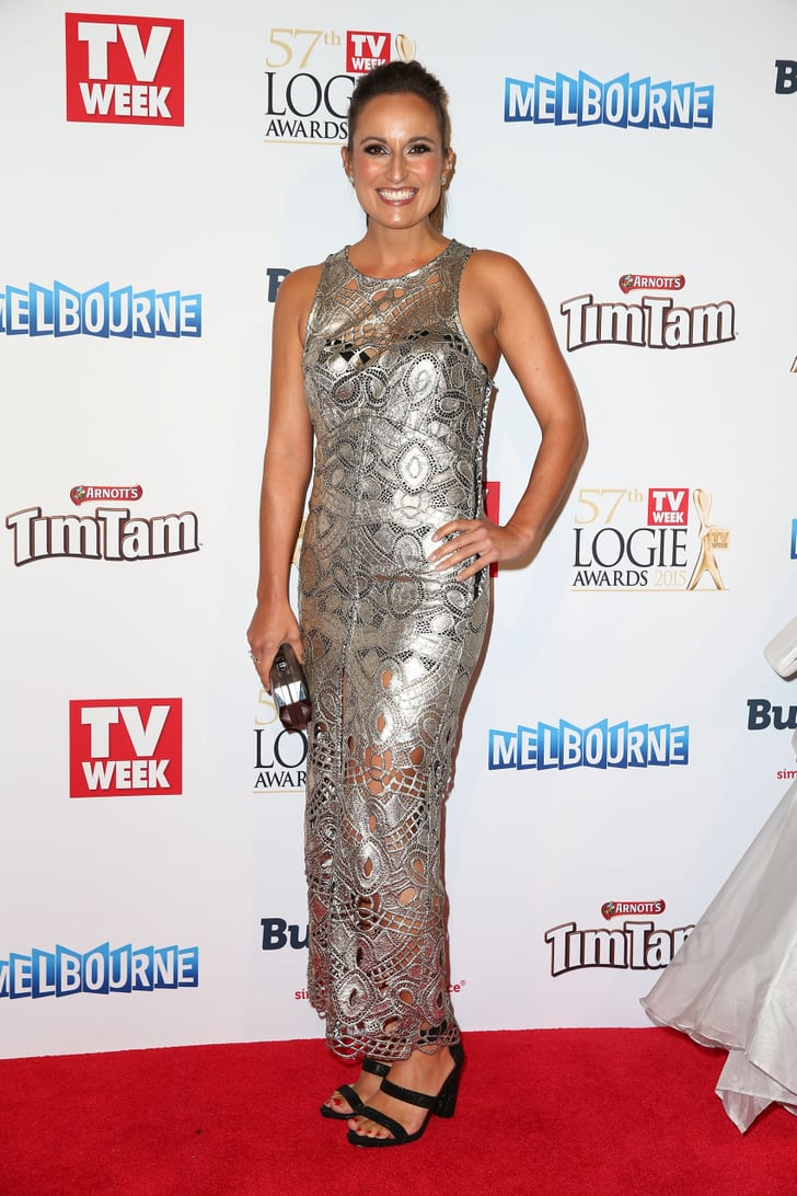 Jayne Azzopardi Tv Week Logies Awards Red Carpet Style