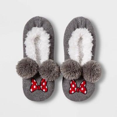 Minnie Mouse Pull-On Slipper Socks