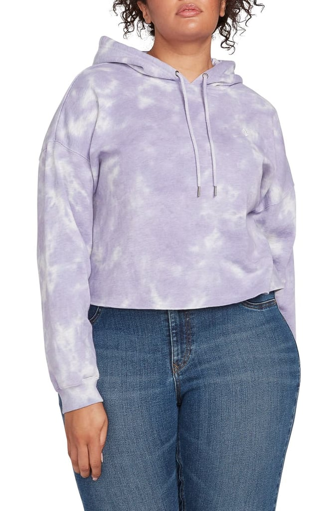 Volcom Plus Size Clouded Hooded Sweatshirt