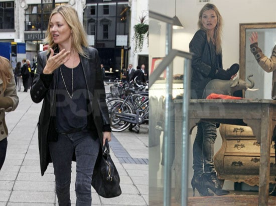 Pictures of Kate Moss Shopping in London 2010-09-27 16:30:00