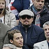 Leonardo DiCaprio hit Roland Garros to take in the French Open finals.
