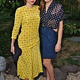 Zoe Kazan and Morgan Saylor
