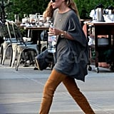 Ashley Olsen walking in NYC.