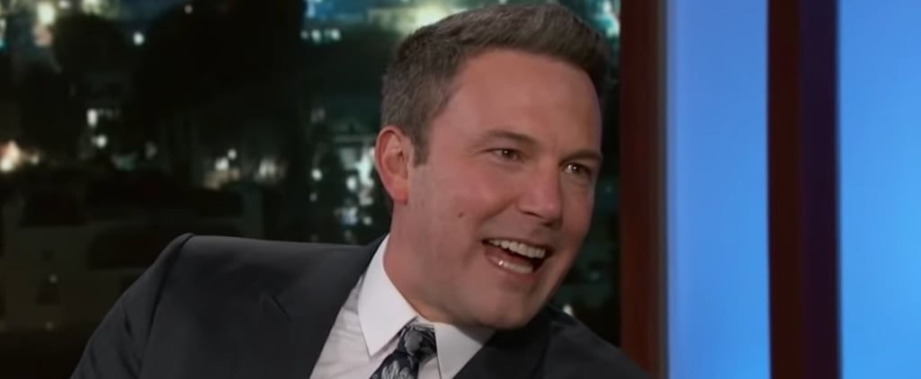Ben Affleck on Jimmy Kimmel Live February 2019