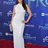 Idina Menzel at the Frozen 2 Premiere in Los Angeles
