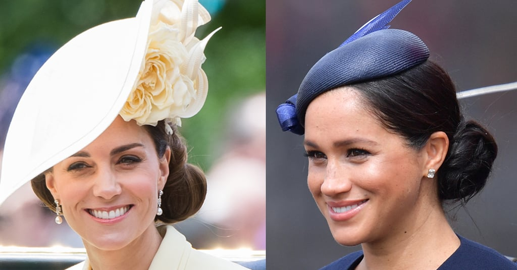 Meghan Markle and Kate Middleton's Hair Trooping the Colour