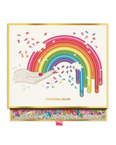 Hachette Book Group Jonathan Adler Rainbow Hand Shaped Puzzle