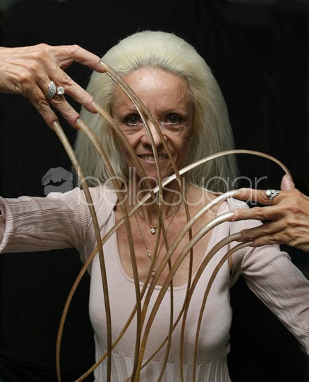 Woman With the Longest Fingernails Breaks Them in Car Accident