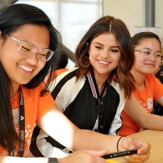 Selena Gomez Surprises High School Students March 2017